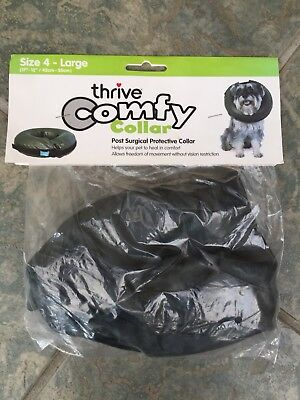 Dog Cone Thrive Comfy Collar Post Surgery Scratching