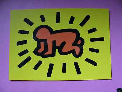 Keith Haring Radiant baby 1990 4x6 Post Card
