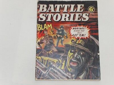 Battle Stories  #8   Uk Edition  L. Miller  28 Pages  6D  Poor To Good Condition