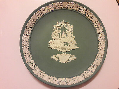 Wedgwood 1984 Valentines Day plate, limited edition