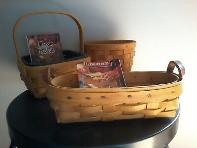 Tarragon, Oregano, Lavender Booking Baskets Longaberger
