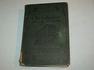 1900s DANIEL STEWART CO. CATALOG, OLD GIBRALTAR DRUG HOUSE,INDIANAPOLIS~ rare!!!
