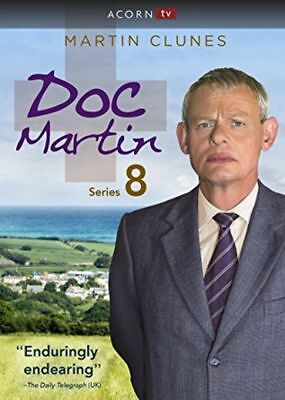 BRAND NEW DOC MARTIN: The Complete Eighth Season Series 8  Martin Clunes (DVD)