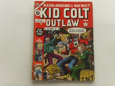Kid Colt  #12  Atlas  Western  Uk Edition  Thorpe & Porter  68 Pages  1/-