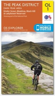 OS Explorer Map OL1 The Peak District