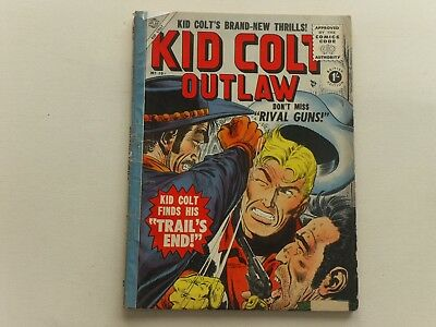 Kid Colt  #19  Atlas  Western  Uk Edition  Thorpe & Porter  68 Pages  1/-