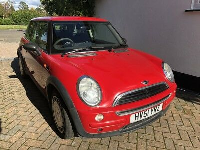Mini One 1.6 125,000 miles, great runner, requires minor repair for MOT by 02/10