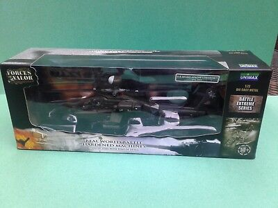 Diecast model helicopter Forces of Valor 1:72 AH-64D Longbow Apache US Army 200