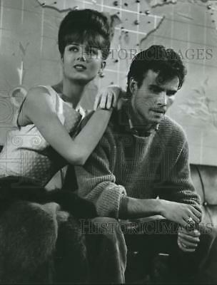 """1965 Press Photo Pamela Tiffin and Horst Buchholz in """"One, Two, Three"""" on ABC"""