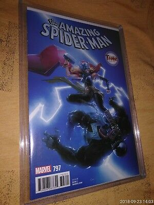 The Amazing Spider-Man #797 The Mighty Thor Variant (Marvel) Clayton Chain NM