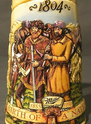 1994 Miller Genuine Draft Birth of a Nation Beer Stein Limited Edition