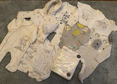 BNWT Unisex Baby Clothes Bundle 0-3months