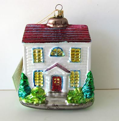 Kurt Adler Christmas Ornament, box, tag, Our New Home, Polonaise, Komozja, CIJ