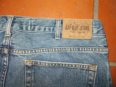 Gap Blue Jeans - Boot Fit 96x76cm - 100% cotton - Leather Label - Can collect