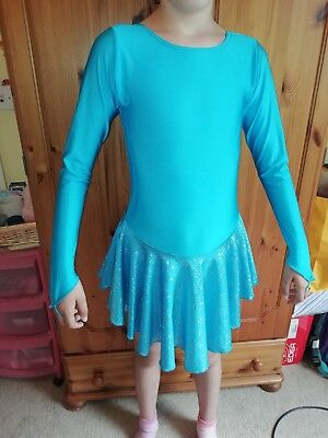 Girls Ice Figure Skating Dress - approx age 10
