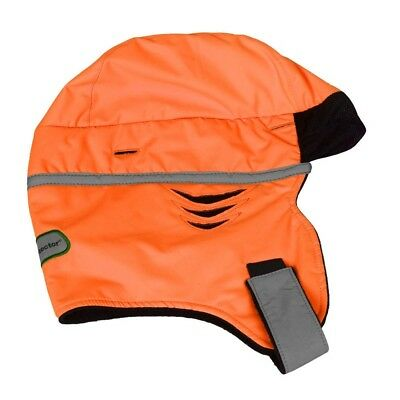 Scott Zero Hood Winter Thinsulate Hard Hat Helmet Liner Hi-Vis Orange
