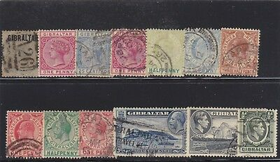 Gibraltar Used Misc Stamps