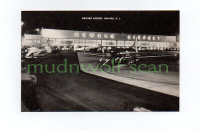 American Convair 240 At Newark Airport Postcard