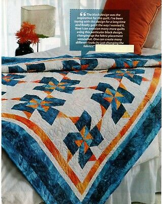 tropical twist quilt pattern pieced bh 3 99 picclick