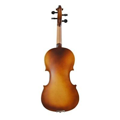 E55 Handmade 4/4 Full Size Wooden Violin Beginners Practice Musical Instrument M