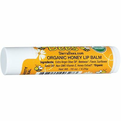 Sierra Bee's Organic Honey Lip Balm