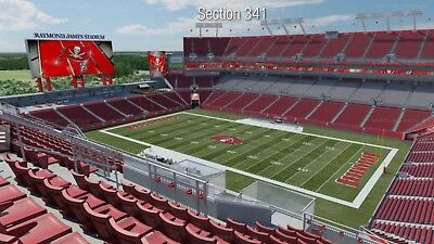 2 Pittsburgh Steelers Vs Tampa Bay Buccaneers Tickets 9/24/18 Monday Night Game