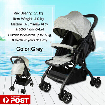 Luxury Bassinet Baby Stroller Pram Newborn Baby jogger Folding Pushchair Travel