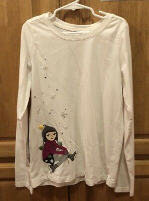 Gymboree Girls Long-Sleeve Winter Shirt Size 12