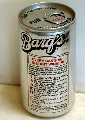 Barq's Root Beer; Houston Coca-Cola Bottling Company; Houston, TX; Soda Pop Can