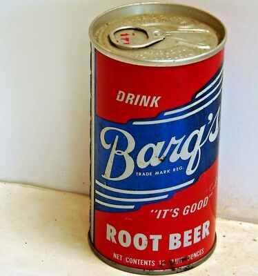 Barq's Root Beer; Tri-State Canning; Evansville, IN; Steel Soda Pop Can