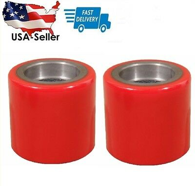 2 Pcs Eoslift Part Pallet Truck/Jack PU Load Wheel Replacement For All Series US