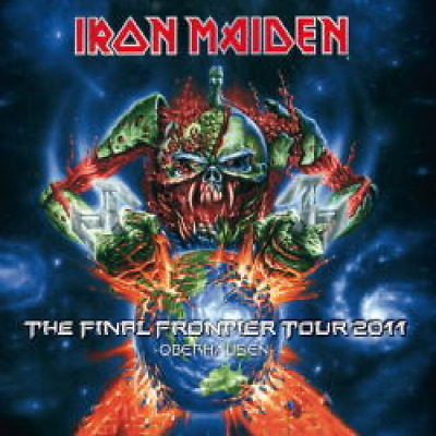 NEW IRON MAIDEN THE FINAL FRONTIER TOUR 2011-OBERHAUSEN ##Mm
