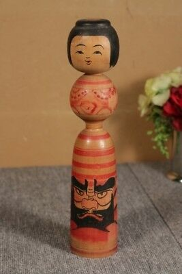 Kokeshi japanese traditional crafts JAPAN rare cute retro beutiful F/S*