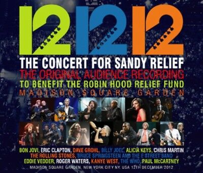 NEW 12-12-12 THE CONCERT FOR SANDY RELIEF THE ORIGINAL AUDIENCE V.A. 5CDR ##ki