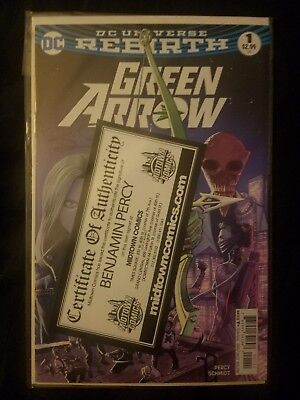 Green Arrow DC Rebirth #1 SIGNED