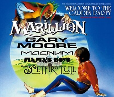 NEW WELCOME TO THE GARDEN PARTY V.A.(MARILLION, GARY MOORE, ETC) 6CDR ##ki