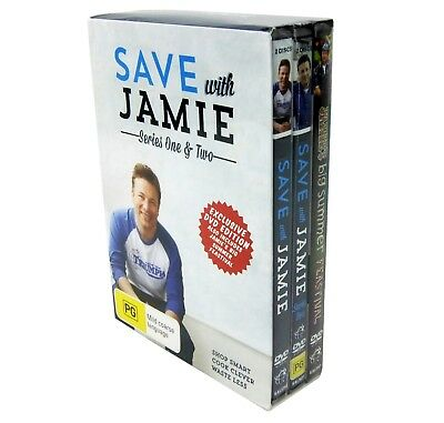 Save With Jamie Series 1 & 2 Dvd Exclusive One & Two Editions New Sealed + Bonus