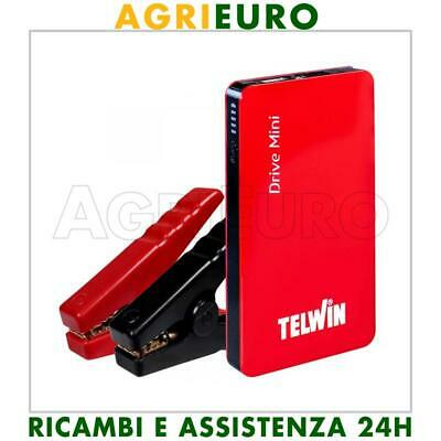 Avviatore portatile multifunzione Telwin Drive Mini - a litio 12 V - power bank
