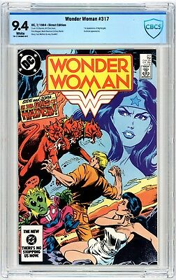 Wonder Woman #317 CBCS 9.4 1st Appearance of Nightingale