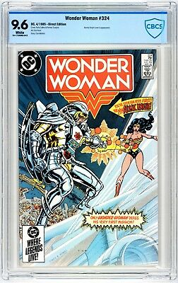 Wonder Woman #324 CBCS 9.6 Atomic Knight Cover & Appearance