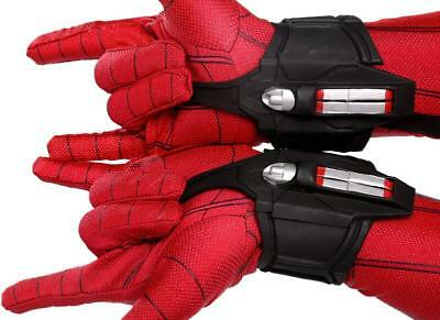 1 pairs Amazing Spiderman 2 web-shooters Spiderman Shooter Cosplay Props for cos