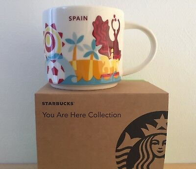 Starbucks City Mug Spanien/Spain - You Are Here YAH Collection - NEU SKU