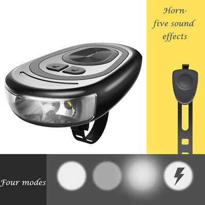 Bright LED Rechargeable Bycicle Front Light Headlamp Headlight Bike Lamps Torch