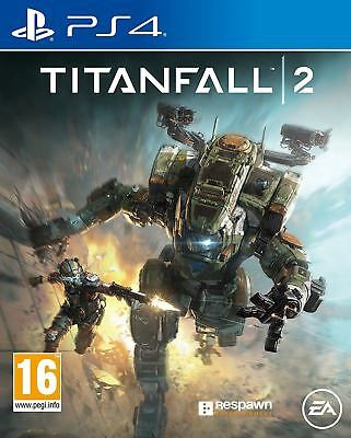 Titanfall 2 II PS4 PAL UK New and Sealed