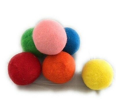 Wool Dryer Balls Colorful 6 Pack XL, BIG PRICE DROP, 100% New Zealand Wool