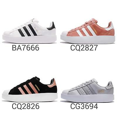 low cost a5e00 35480 adidas Originals Superstar Bold W Platform Womens Lifestyle Shoes Sneaker  Pick 1