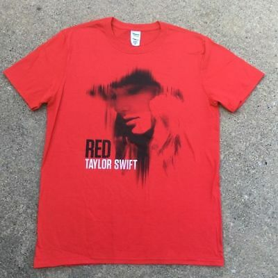 Taylor Swift Red Band Concert Tour T-shirt - SMALL