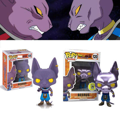 Funko Pop! Dragon Ball Beerus Action Figure Toys Model Doll Gifts Collect In Box