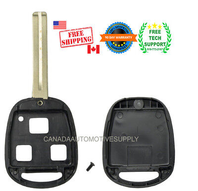 New Remote Key Replacement Case 2 Button Long Blade 48mm Shell Lexus HYQ1512V