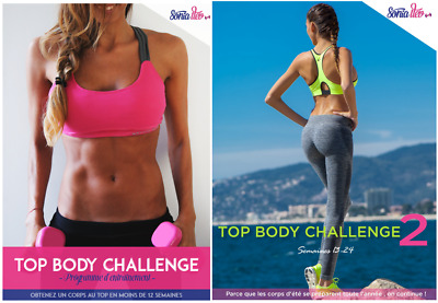 Tbc 1 & 2 Top Body Challenge Pack Complet 1 & 2